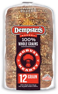 Dempster's Whole Grains or White Bread - Selection Hot Dog or Hamburger Buns