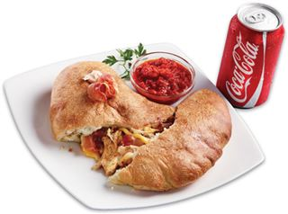 Whiskey Chicken Panzerotti With Bacon