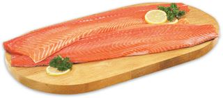 Fresh Organic Salmon or Arctic Char Fillets