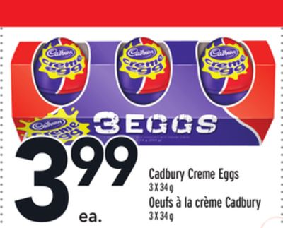 Cadbury Creme Eggs on sale | Salewhale.ca