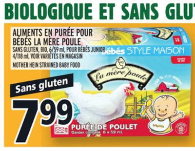 Mere Poule Baby Food