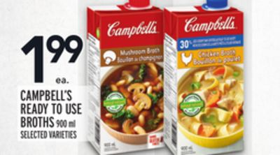 Campbell's Ready To Use Broths
