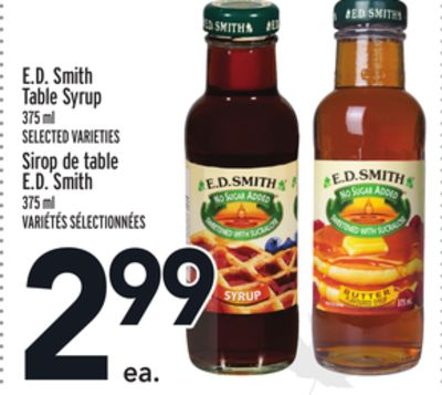 E.d. Smith Table Syrup