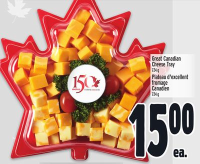 Great Canadian Cheese Tray