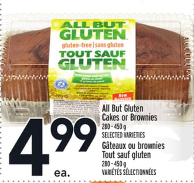 All But Gluten Cakes or Brownies