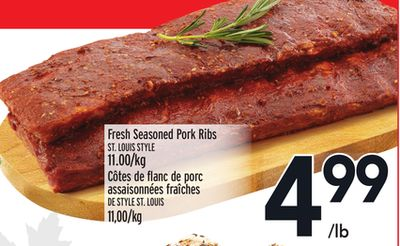 Fresh Seasoned Pork Ribs