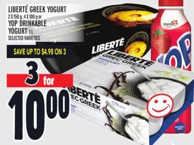 Liberté Greek Yogurt