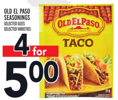 Old El Paso Seasonings