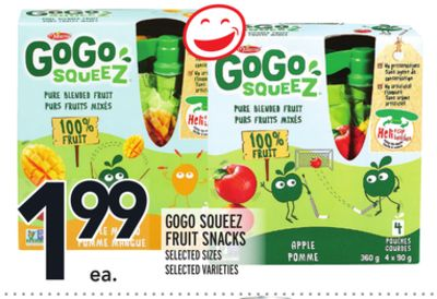 Gogo Squeez Fruit Snacks
