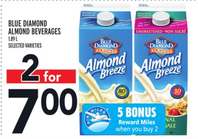 Blue Diamond Almond Beverages