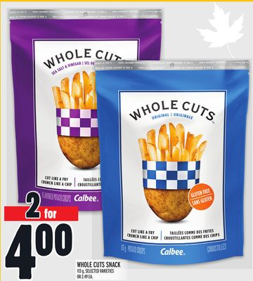 Whole Cuts Snack