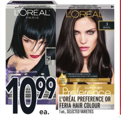 L'oréal Preference Or Feria Hair Colour