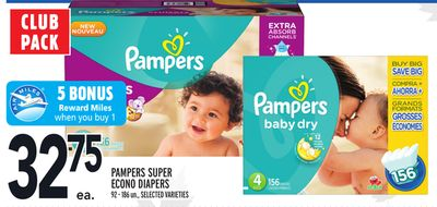 Pampers Super Econo Diapers