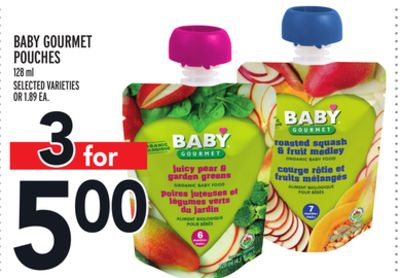 Baby Gourmet Pouches
