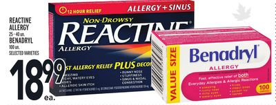 Reactine Allergy