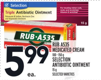 Rub A535 Medicated Cream