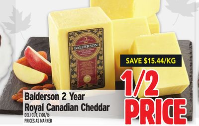 Balderson 2 Year Royal Canadian Cheddar