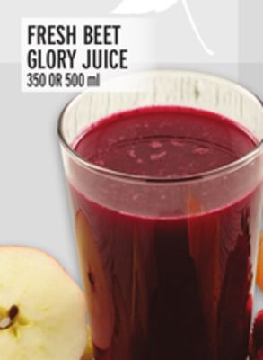 Fresh Beet Glory Juice