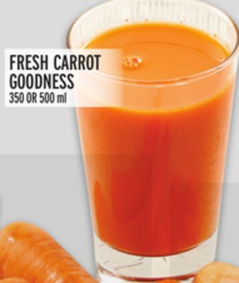 Fresh Carrot Goodness