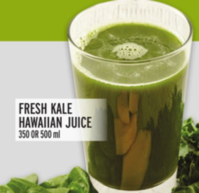 Fresh Kale Hawaiian Juice