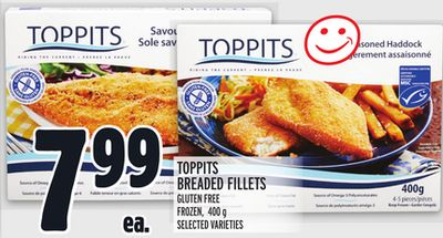 Toppits Breaded Fillets