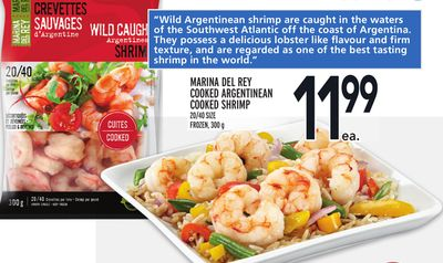 Marina Del Rey Cooked Argentinean Cooked Shrimp