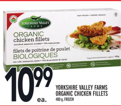 Yorkshire Valley Farms Organic Chicken Fillets