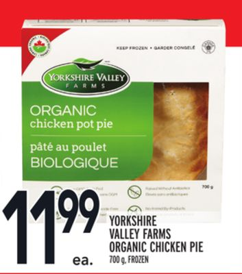 Yorkshire Valley Farms Organic Chicken Pie