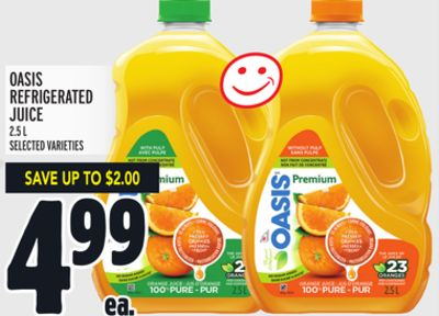 Oasis Refrigerated Juice