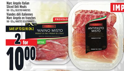 Marc Angelo Italian Sliced Deli Meats
