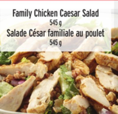 Family Chicken Caesar Salad