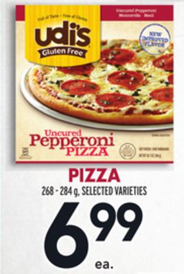 Pizza 268 - 284 g