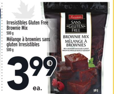 Irresistibles Gluten Free Brownie Mix