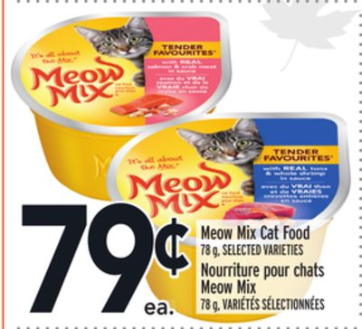 Meow Chow Cat Food