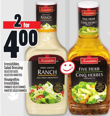 Irresistibles Salad Dressing