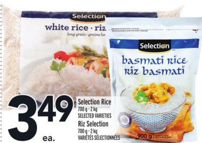 Selection Rice