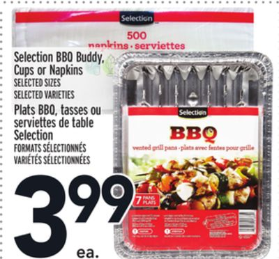 Selection Bbq Buddy - Cups or Napkins