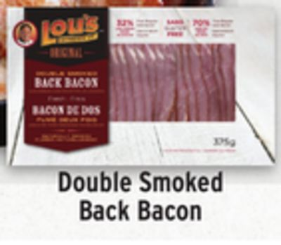 Lou's Double Smoked Back Bacon