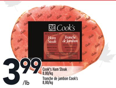 Cook's Ham Steak