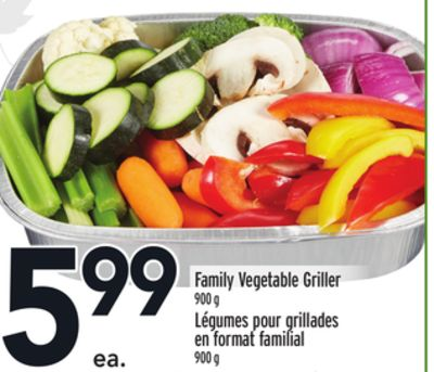 Family Vegetable Griller