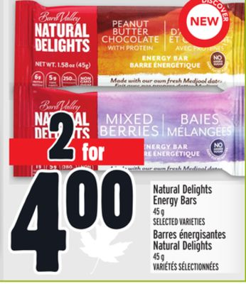 Natural Delights Energy Bars