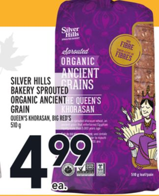 Silver Hills Bakery Sprouted Organic Ancient Grain