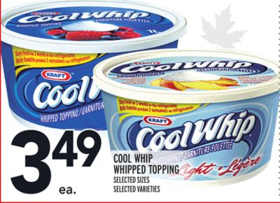 Cool Whip Whipped Topping