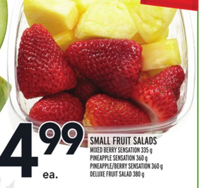 Small Fruit Salads