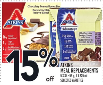 Atkins Meal Replacements