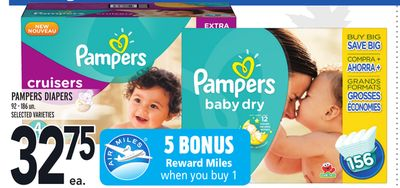 Pampers Diapers 92-186 Un