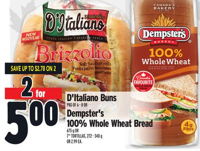 D'italiano or Buns Dempster's
