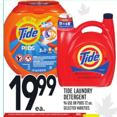 marketing and tide laundry detergent One of several similar products on the market, tide pods are described  it  should go without saying that laundry soap isn't meant to be eaten,.
