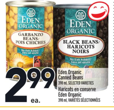 Eden Organic Canned Beans