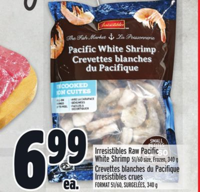 Irresistibles Raw Pacific White Shrimp